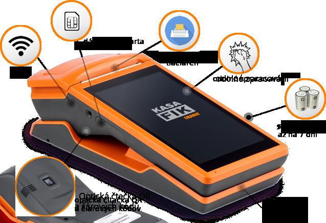 Kasa Fik VRP virtuálna registračná pokladnica