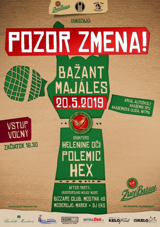 Bažant Majáles 2019 Banská Bystrica