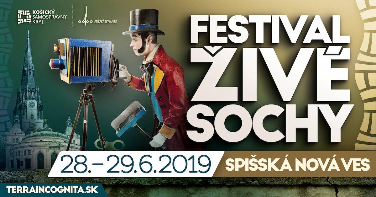 Festival Živé sochy 2019