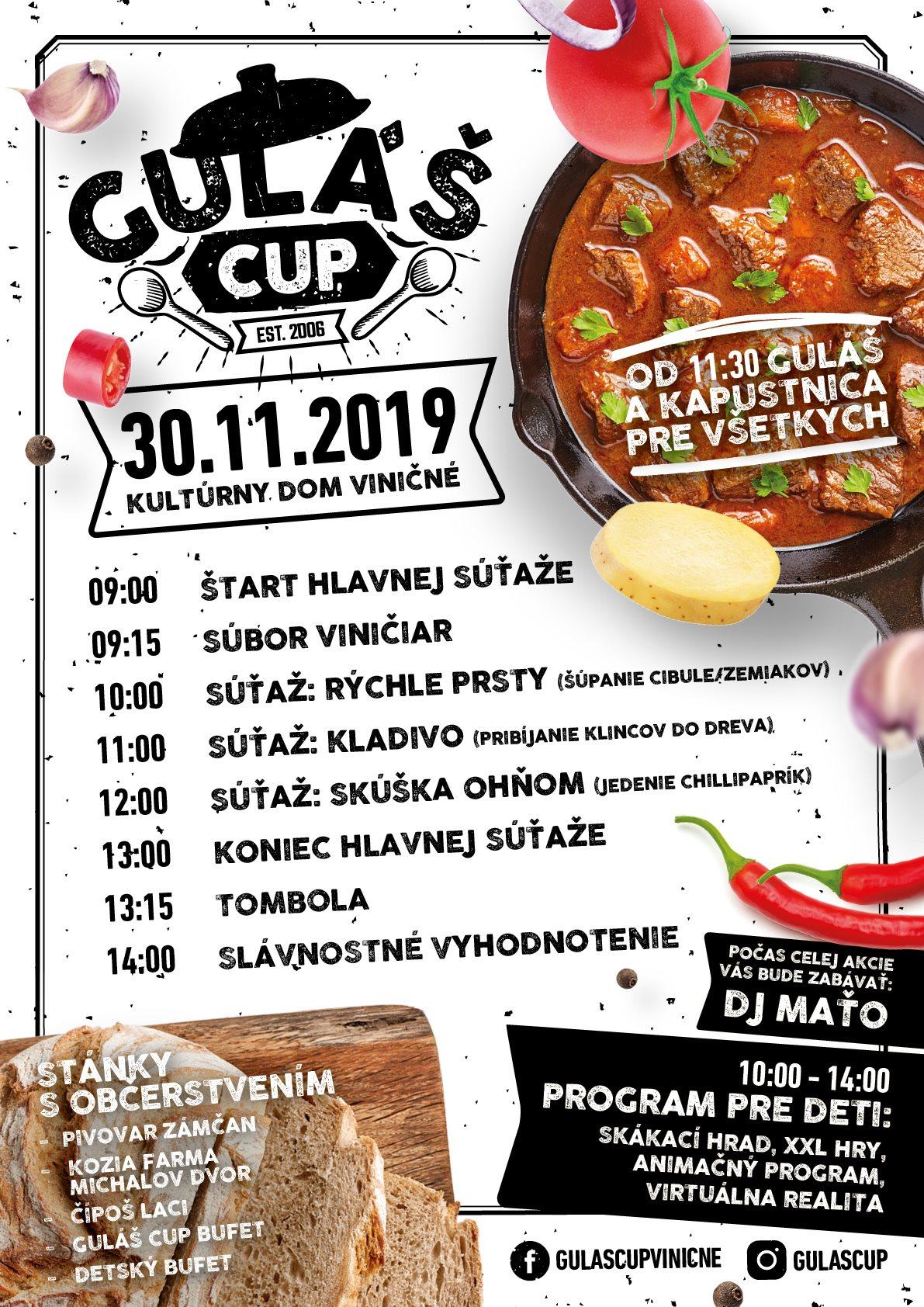 Guláš Cup 2019 Viničné