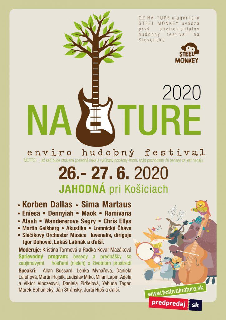 Festival Nature 2020 plagát