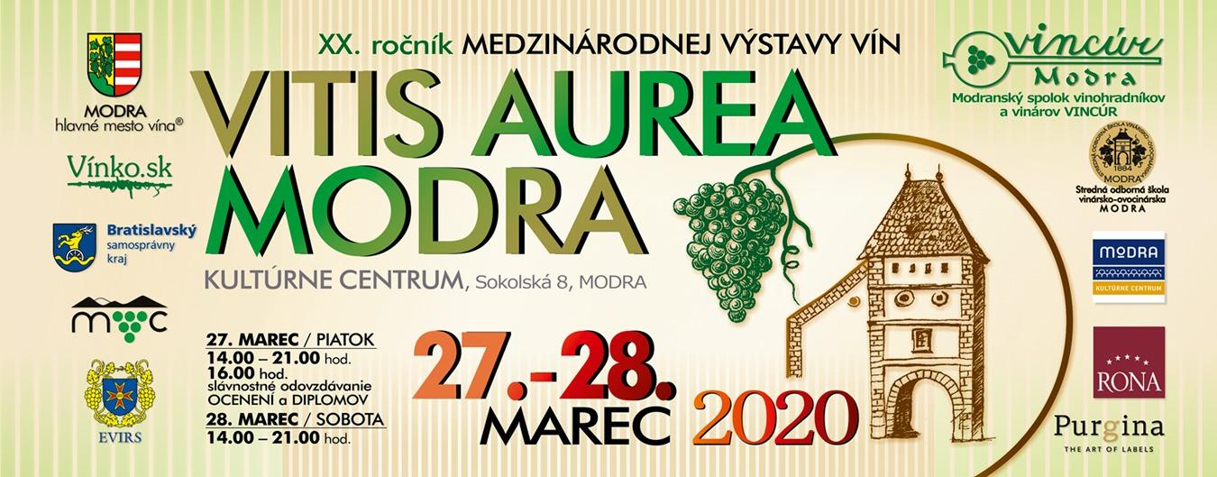 Vitis Aurea Modra 2020